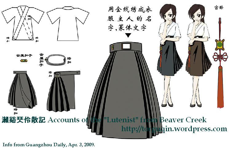 Hanfu Accounts Of The Lutenist From Beaver Creek